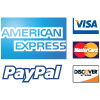 Credit Cards and PayPal is Accepted